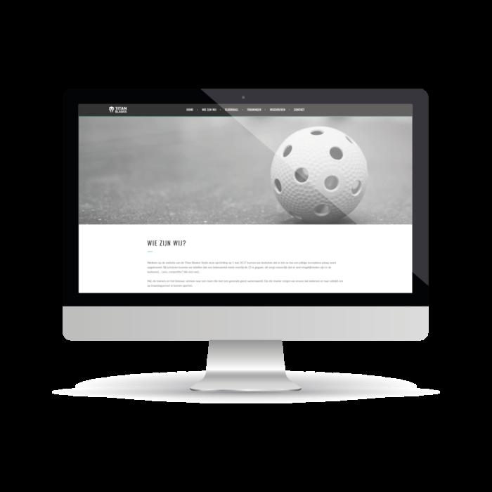 webdesign Titan Blades